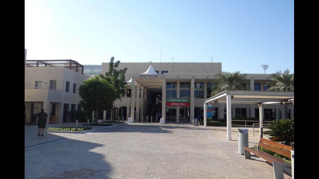Fahrerlager - Formel 1 - GP Abu Dhabi - 01. November 2012