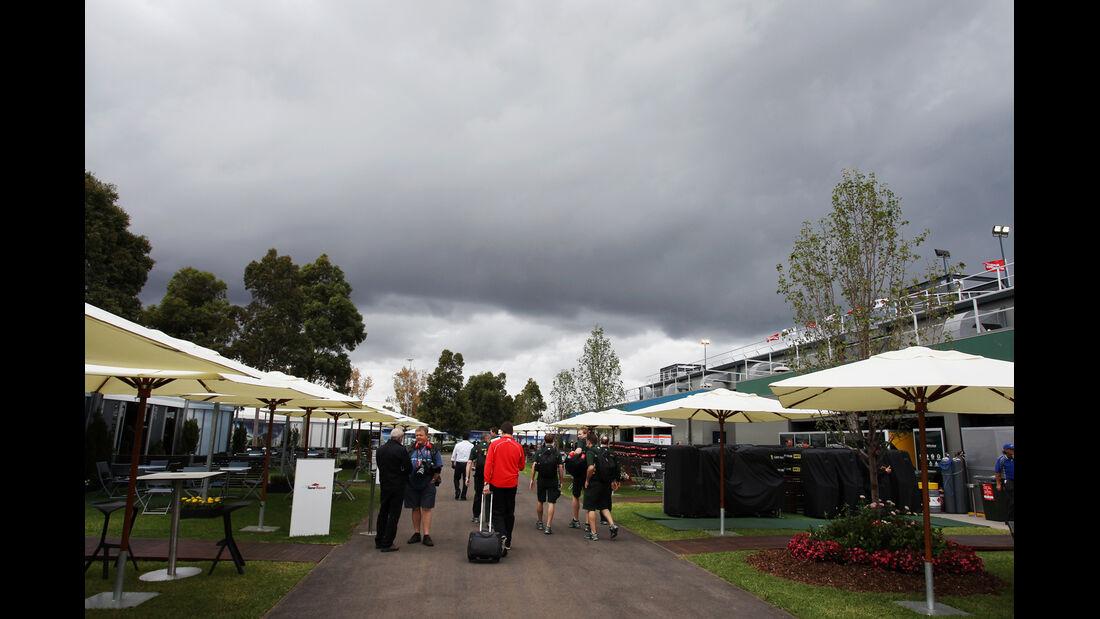 Fahrerlager - Formel 1 - GP Australien - 16. März 2013