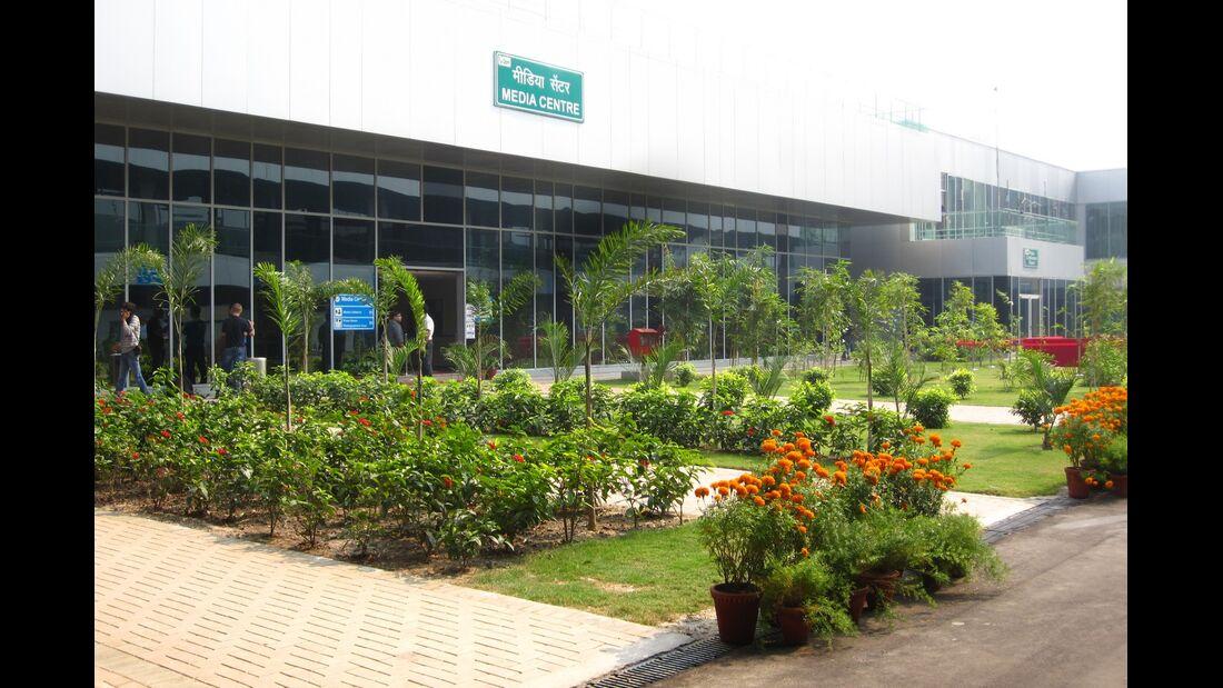 Fahrerlager  - Formel 1 - GP Indien - 25. Oktober 2012