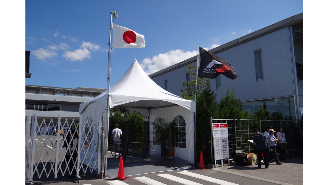Fahrerlager - Formel 1 - GP Japan - Suzuka - 4. Oktober 2012