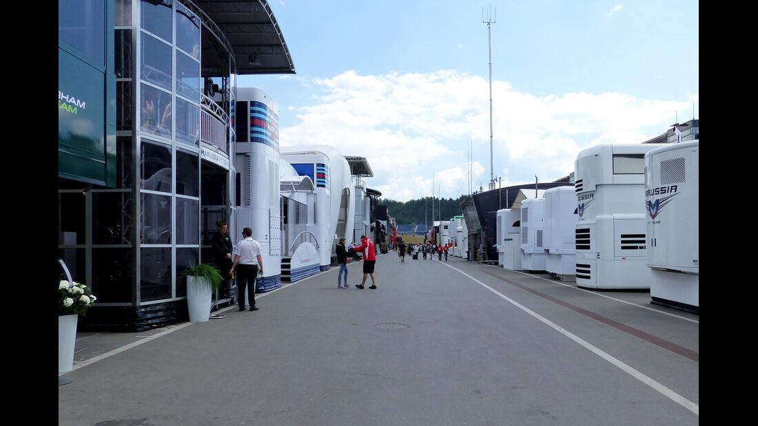 Fahrerlager - Formel 1 - GP Österreich - Spielberg - 19. Juni 2014