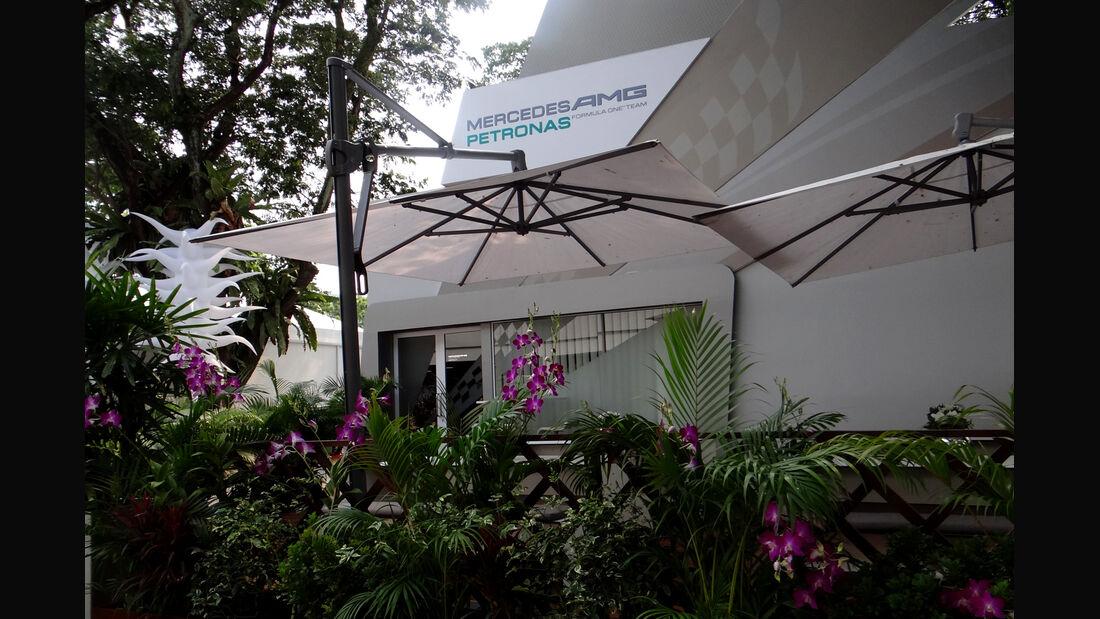 Fahrerlager - Formel 1 - GP Singapur - 20. September 2012
