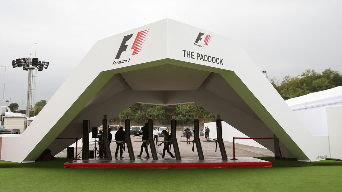 Fahrerlager - Formel 1 - GP Spanien - 11. Mai 2017