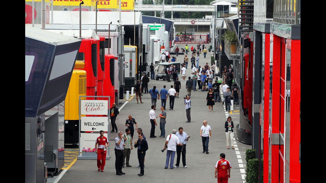 Fahrerlager - Formel 1 - GP Spanien - 9. Mai 2013