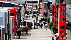 Fahrerlager - Formel 1 - GP Spanien - Barcelona - 10. Mai 2018