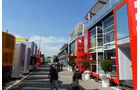Fahrerlager - Formel 1 - GP Spanien - Barcelona - 8. Mai 2014
