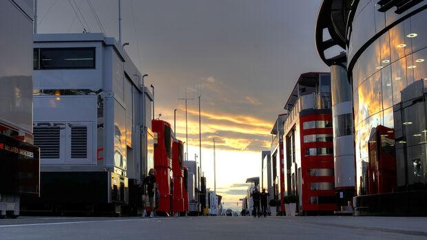 Fahrerlager - Formel 1 - GP Ungarn 2011