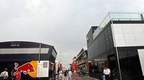 Fahrerlager - Formel 1 - GP Ungarn - 27. Juli 2014