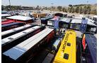 Fahrerlager - Formel 1-Test - Barcelona - 19. Februar 2015