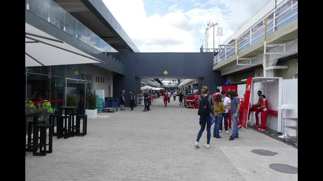 Fahrerlager - GP Brasilien 2016 - Sao Paulo - Interlagos - Mittwoch - 9.11.2016