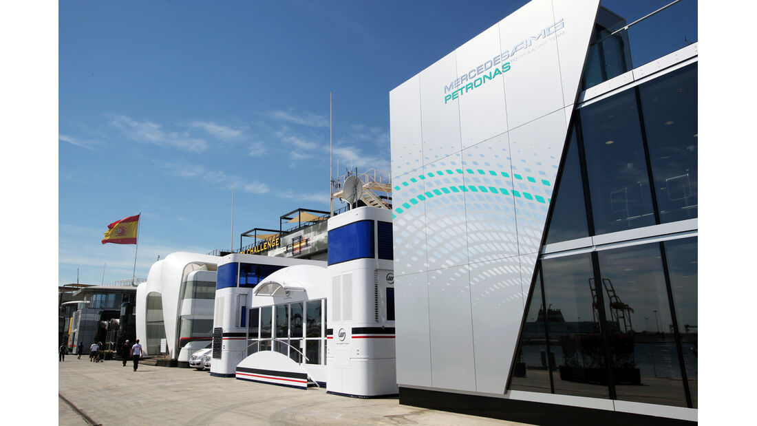 Fahrerlager - GP Europa - Valencia - 21. Juni 2012
