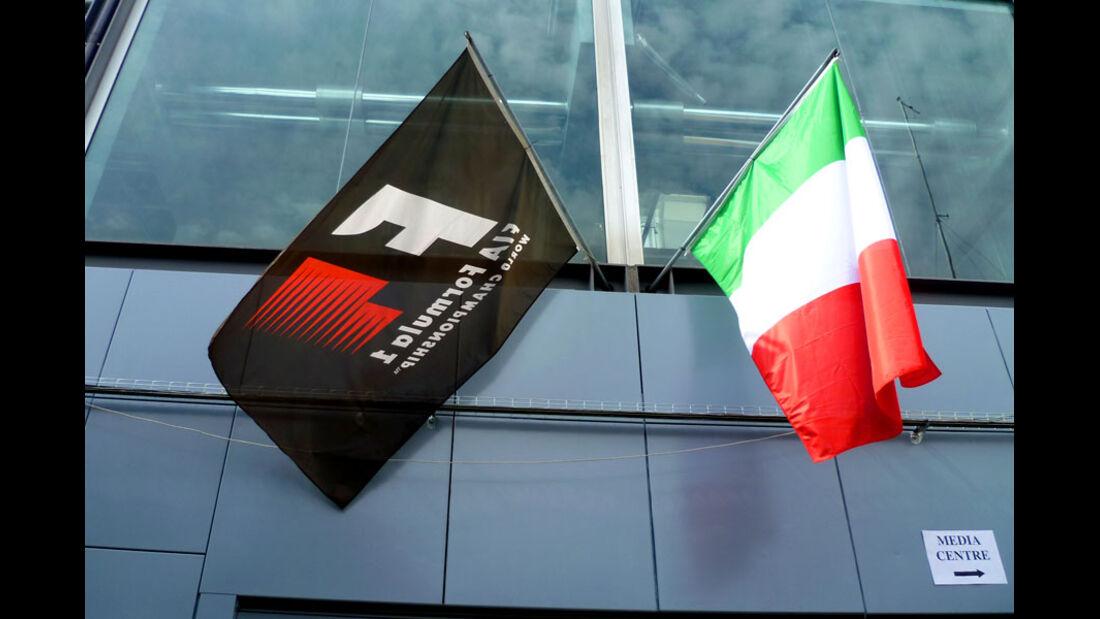 Fahrerlager - GP Italien - 8. September 2011