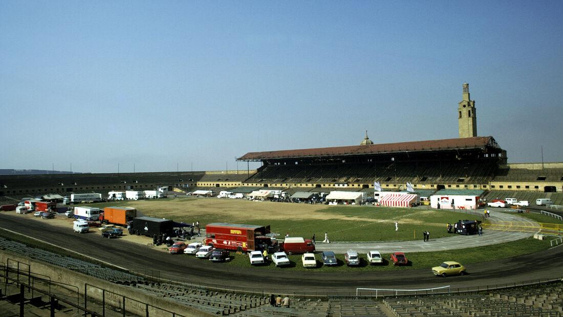 Fahrerlager - GP Spanien 1975 - Montjuich Park