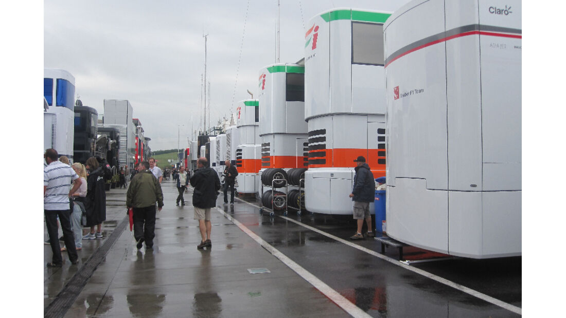 Fahrerlager - GP Ungarn - Formel 1 - 28.7.2011