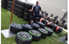 Fahrerlager - Impressionen - GP Australien - 14. März 2012