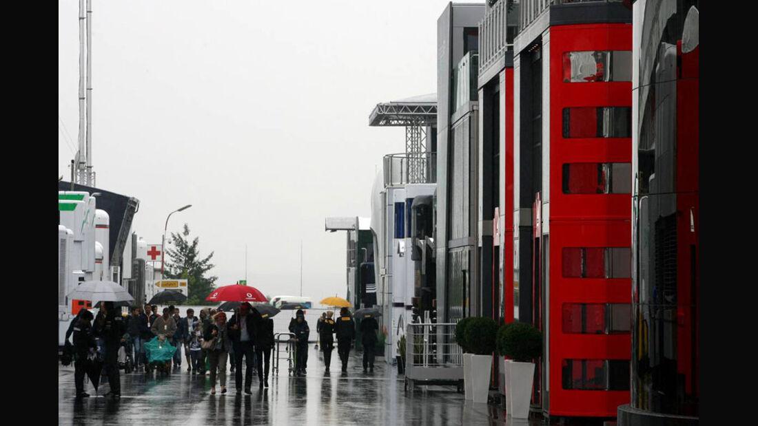 Fahrerlager - Nürburgring - GP Deutschland - 21. Juli 2011