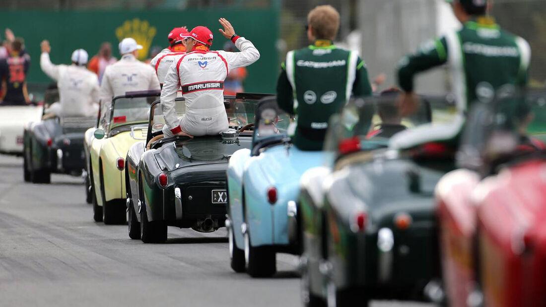 Fahrerparade - Formel 1 - GP Australien - 16. März 2014