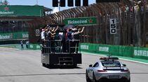 Fahrerparade - Formel 1 - GP Brasilien - 12. November 2017