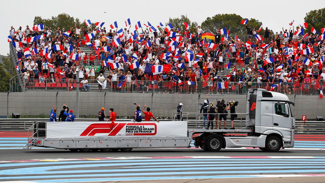 Fahrerparade - Formel 1 - GP Frankreich 2021