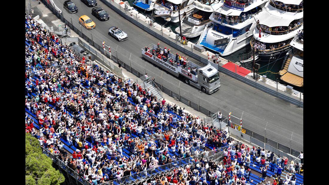 Fahrerparade - Formel 1 - GP Monaco - 26. Mai 2019
