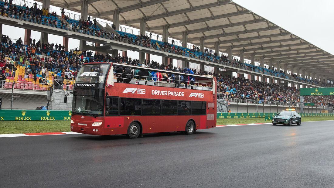 Fahrerparade - Formel 1 - GP Türkei 2021
