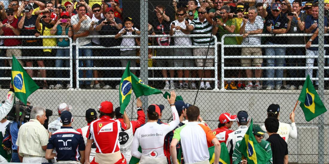 Fahrerparade GP Brasilien 2011