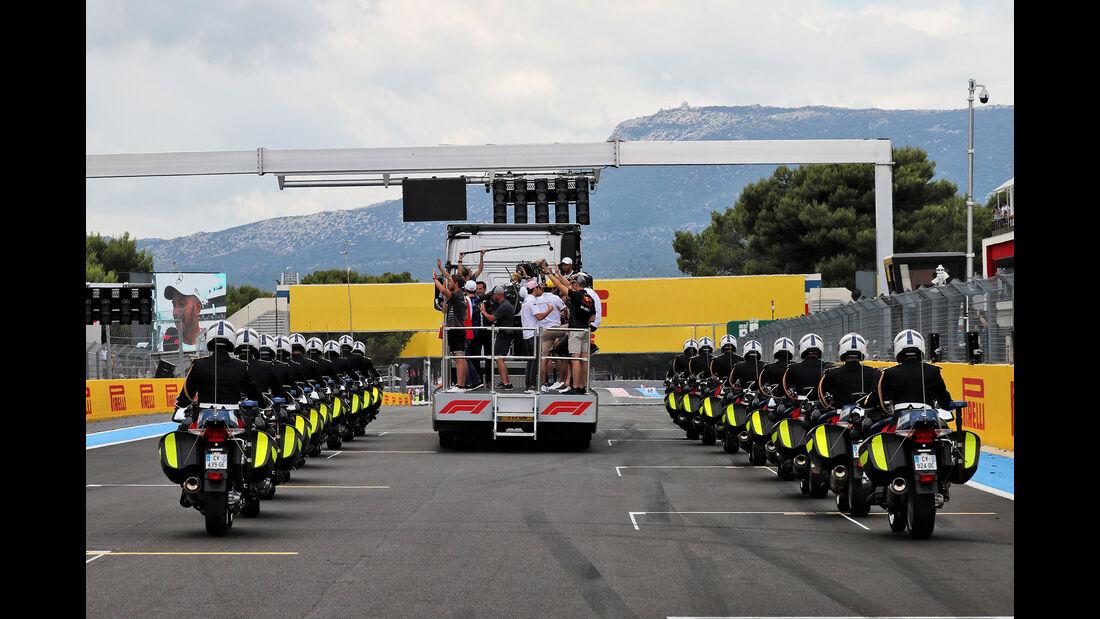 Fahrerparade - GP Frankreich 2018