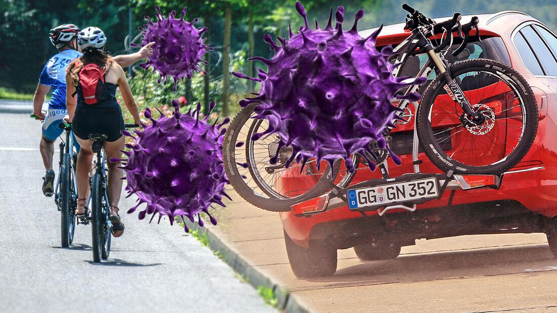 Fahrradträger Anhängerkupplung Corona