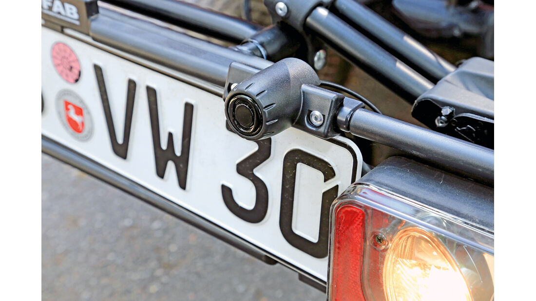 Fahrradträger, Einparkhilfe, Sensor