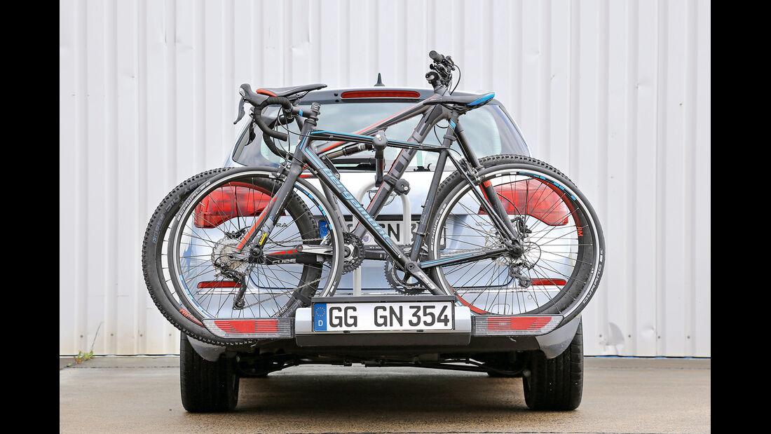 Fahrradträger-Konzeptvergleich, Opel Flexfix