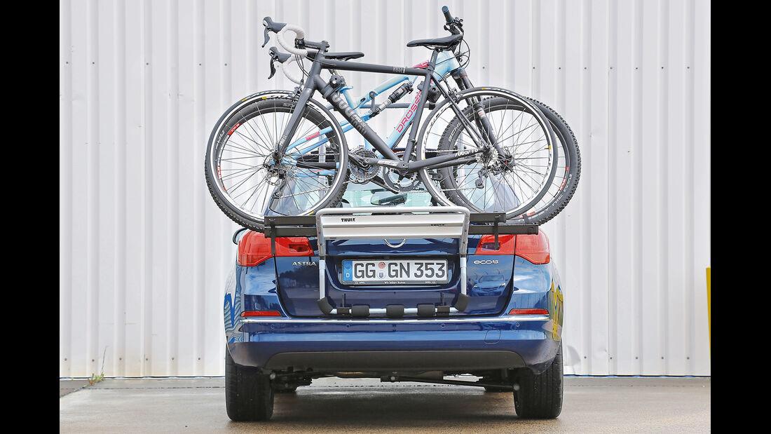 Fahrradträger-Konzeptvergleich, Thule Backpac 973