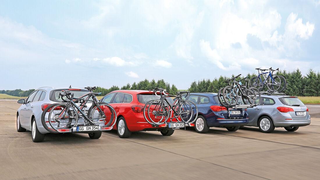 Fahrradträger-Konzeptvergleich, Typen