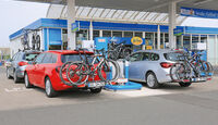 Fahrradträger-Konzeptvergleich, Verbrauch
