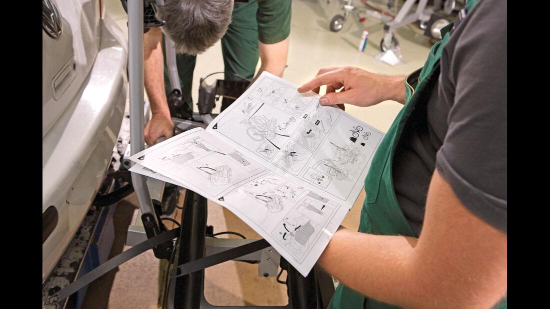 Fahrradträger, Räder, Bedienungsanleitung