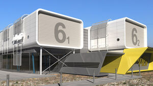 Fahrsimulator Ellip 6, Spielecenter