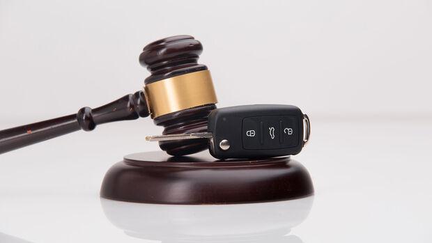 Fahrverbot Recht