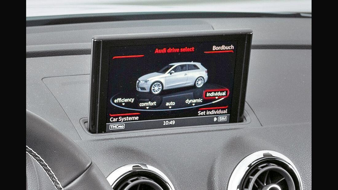 Fahrwerk, Anzeige, Bildschirm