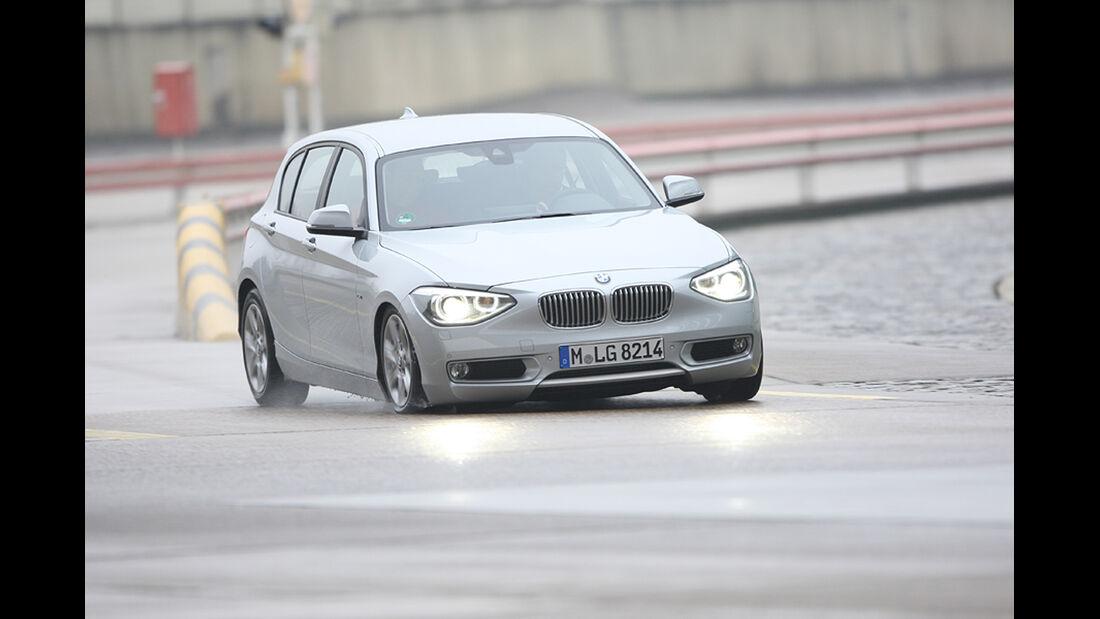 Fahrwerke im Vergleich, BMW 1er