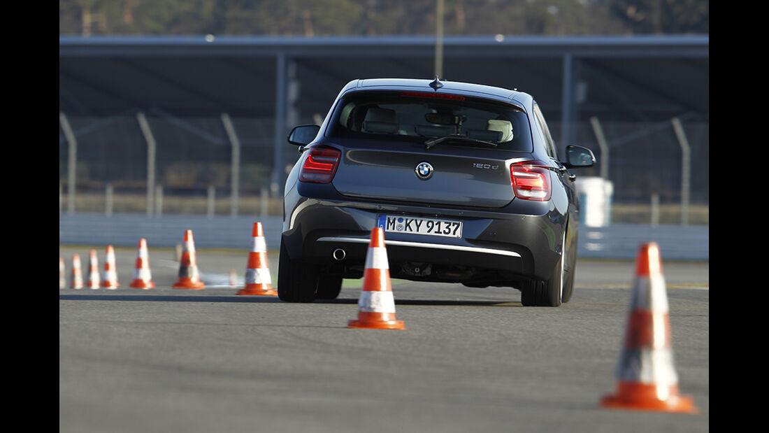 Fahrwerke im Vergleich, BMW 1er mit Adaptiv-Fahrwerk