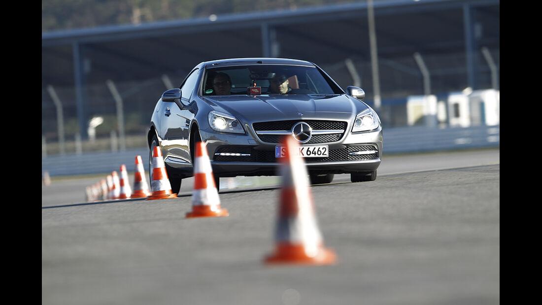 Fahrwerke im Vergleich, Mercedes SLK