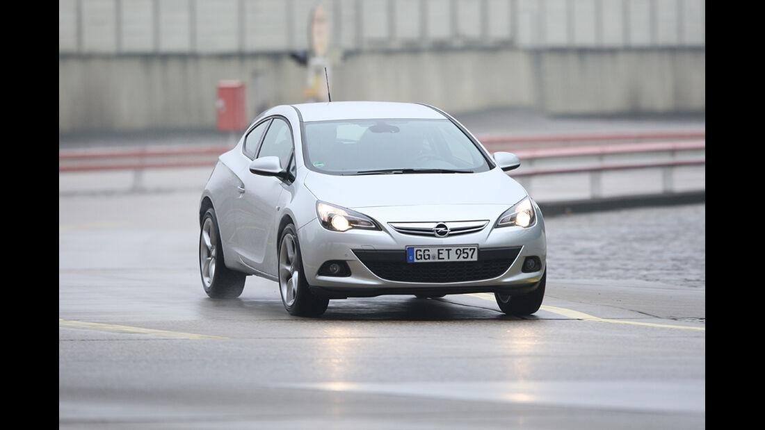 Fahrwerke im Vergleich, Opel Astra