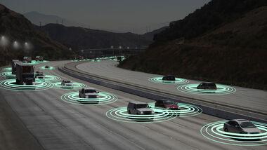 Fahrzeuge vernetzt