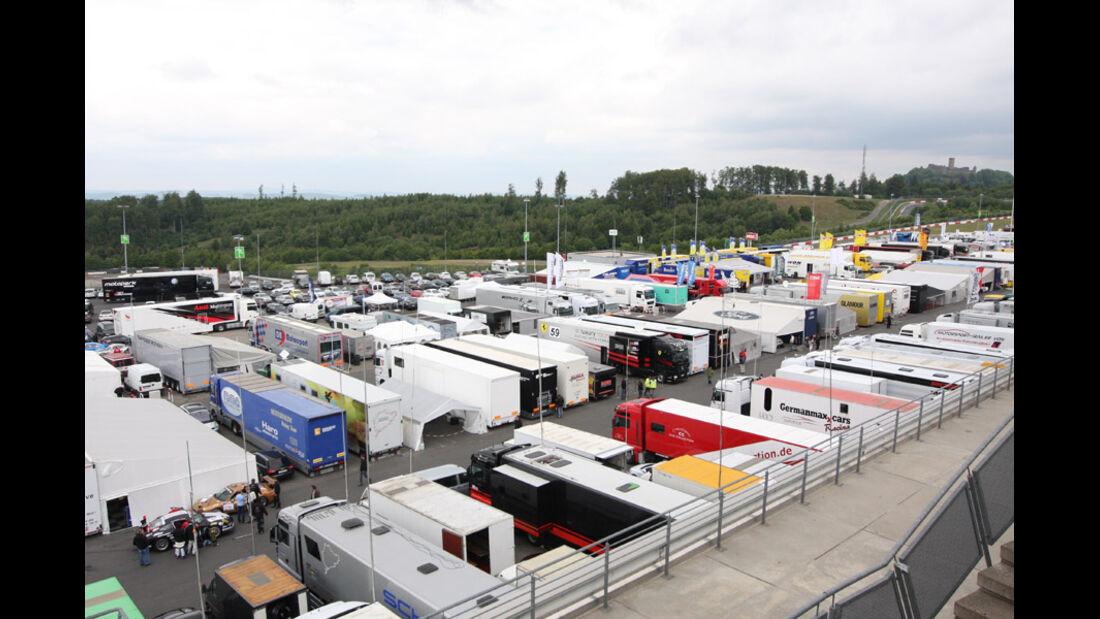 Fahrzeuggruppe, Boxengasse, VLN, Langstreckenmeisterschaft, Nürburgring