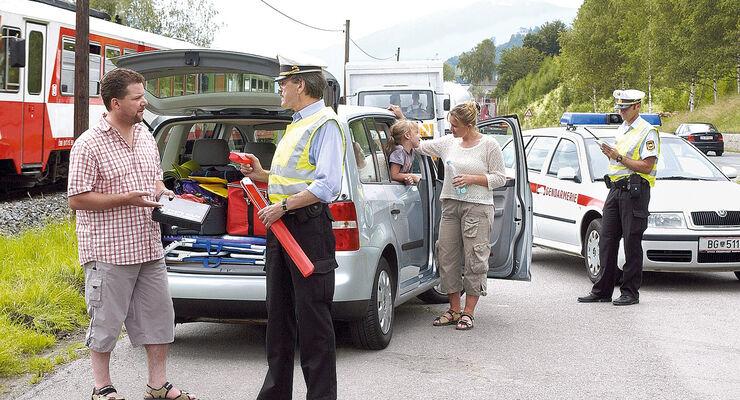 Fahrzeugkontrolle, Österreich