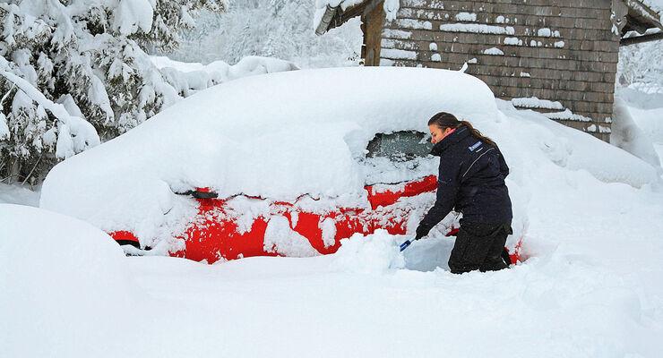 Fahrzeugzubehör, Auto ausgraben