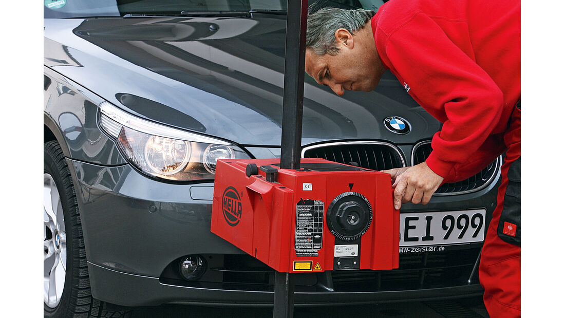 Fahrzeugzubehör, Lichmessgerät