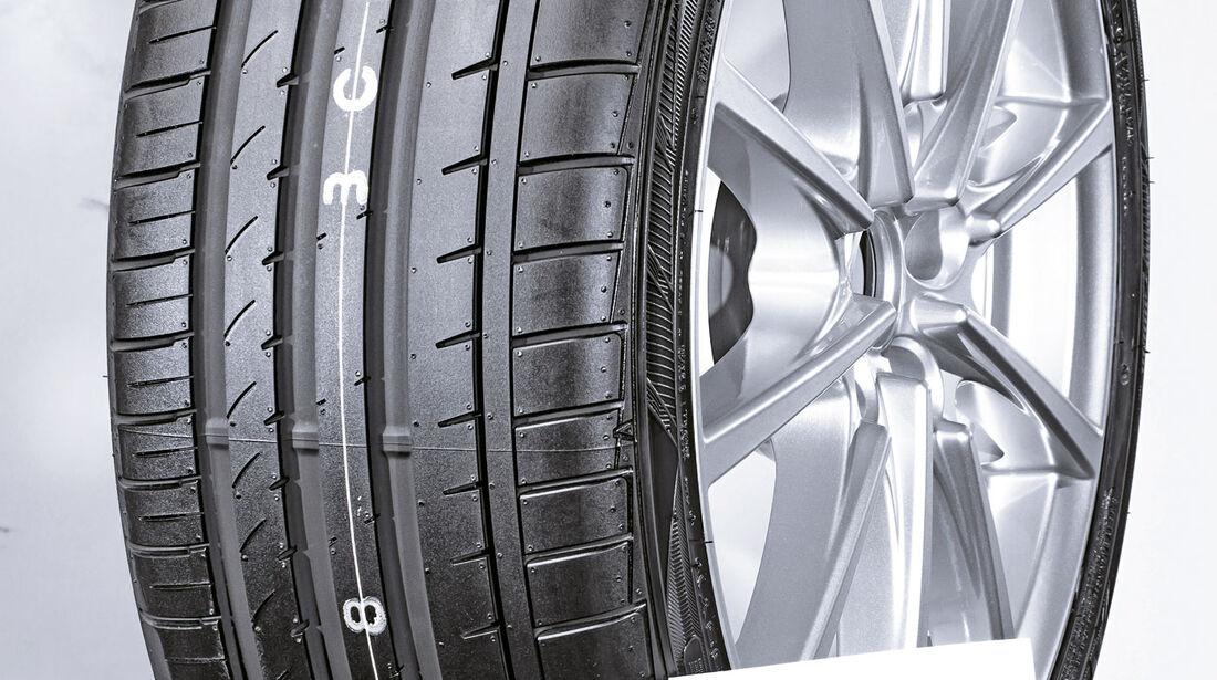 Falken Azenis FK 453, Sommerreifen-Test 2016, Reifengröße 235/40 R18 Y, Ford Focus ST, Test