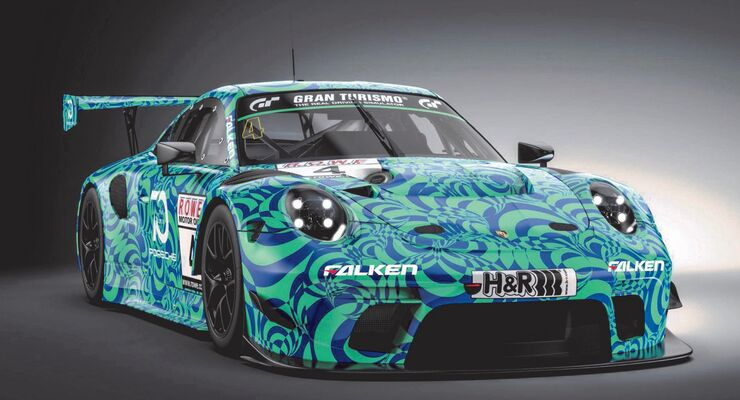 Falken Porsche 911 GT3 R 2019 - VLN 7 - 20. September 2018
