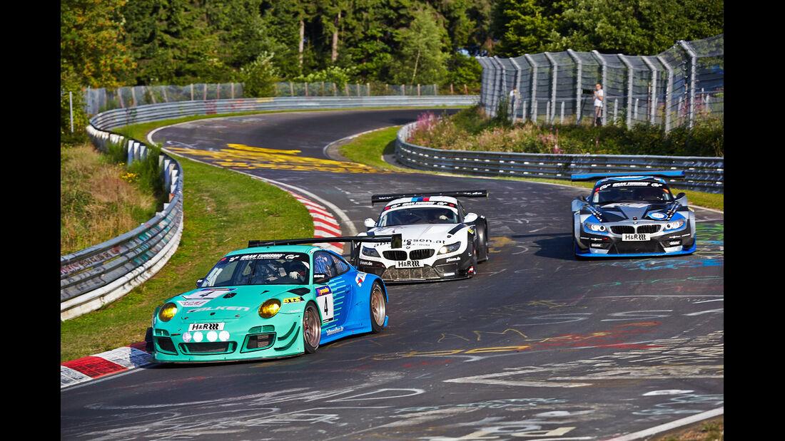 Falken Porsche - VLN Nürburgring - 6. Lauf - 2. August 2014