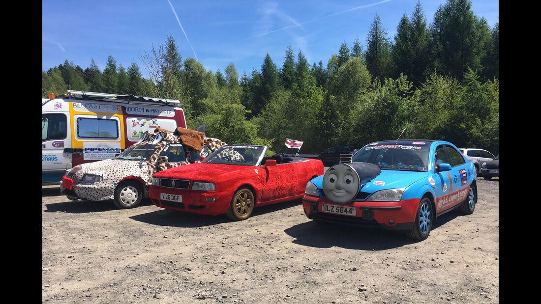 Fan-Autos - 24h-Rennen Nürburgring 2017 - Nordschleife